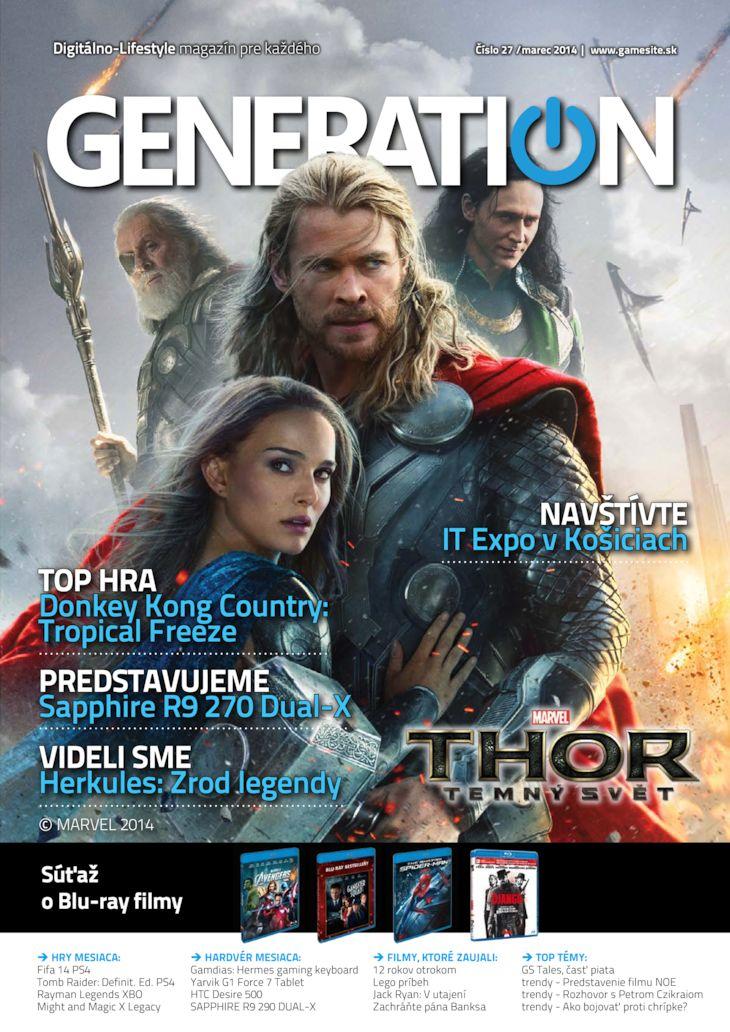 Generation magazín č. 027