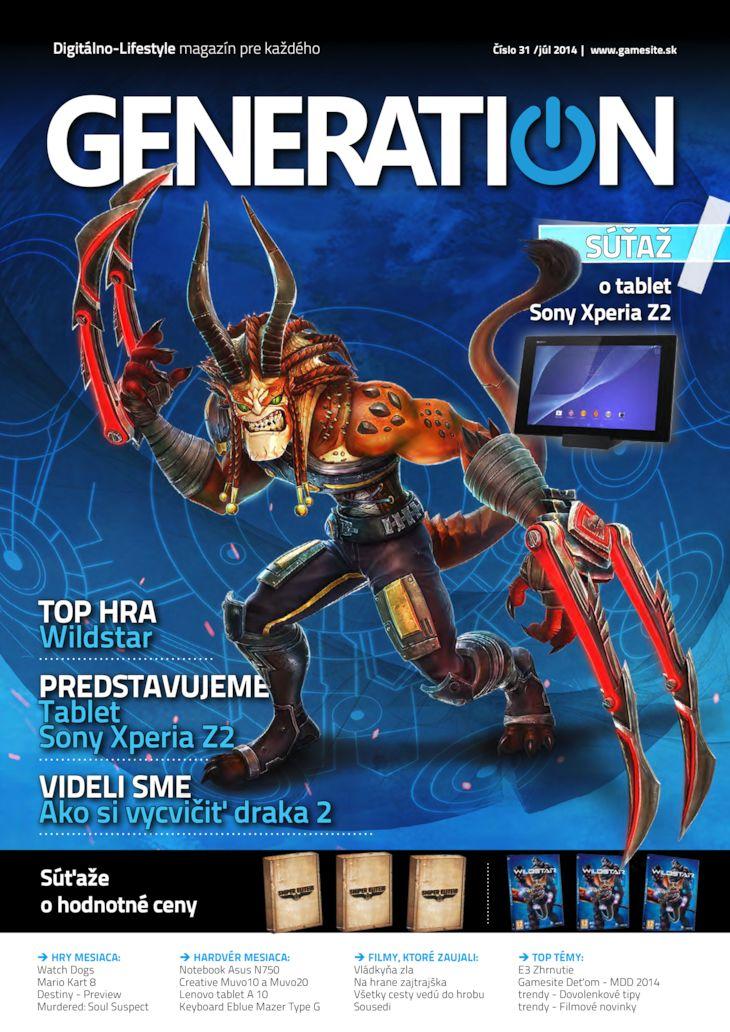 Generation magazín č. 031