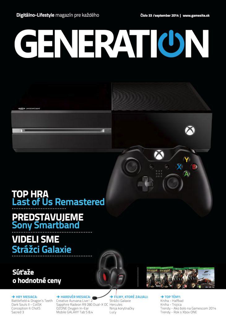 Generation magazín č. 033