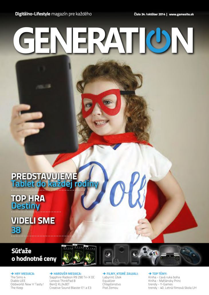 Generation magazín č. 034