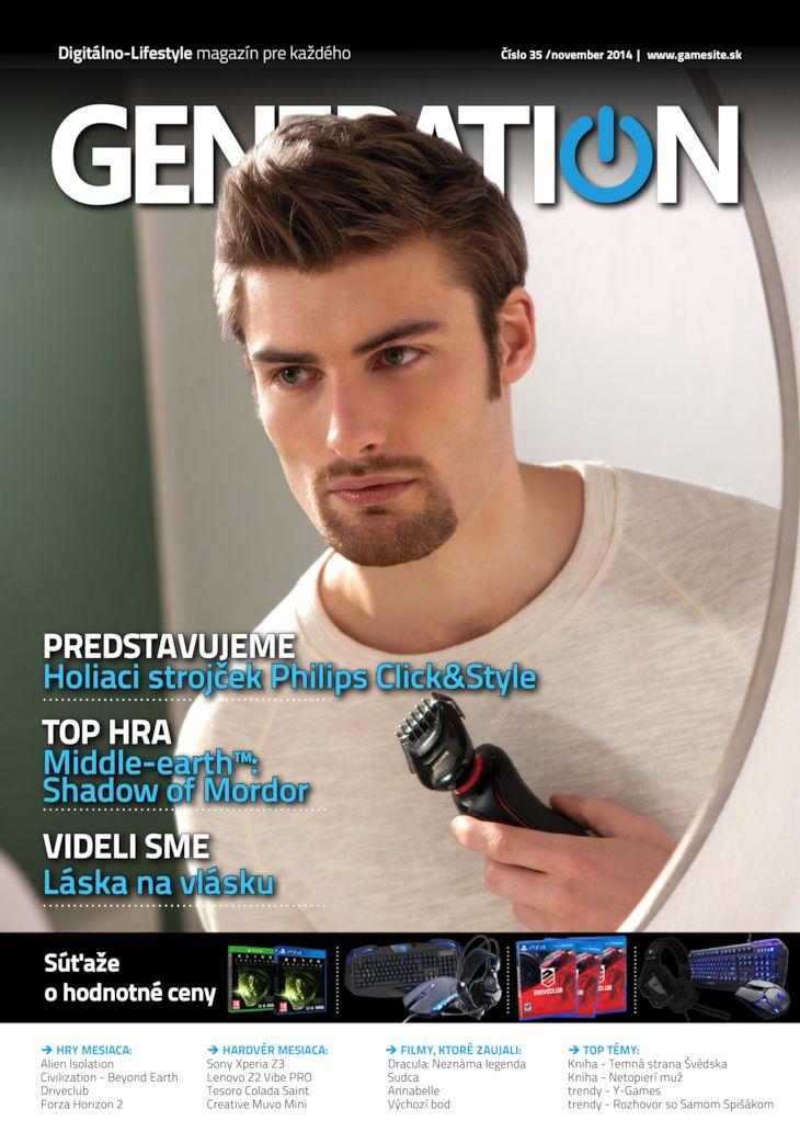 Generation magazín č. 035