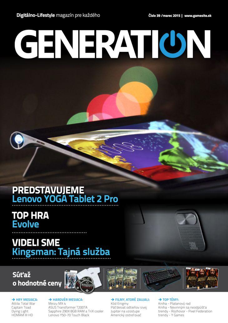 Generation magazín č. 038
