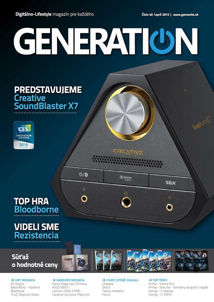 Generation magazín č. 040