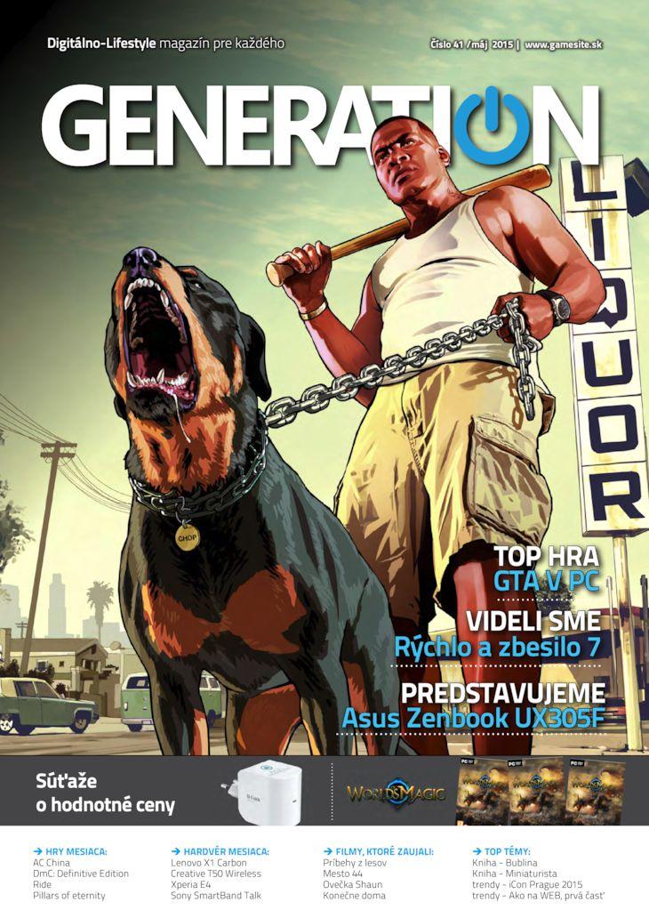 Generation magazín č. 041