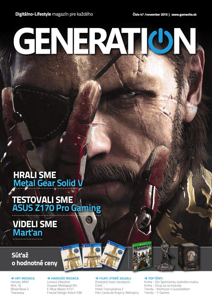Generation magazín č. 047
